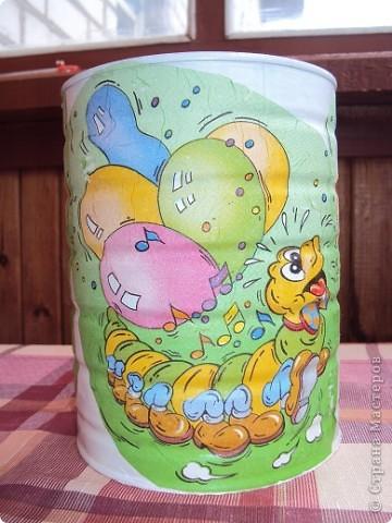 Вот такой горшочек я сделала для своего любимого цветочка))) фото 2