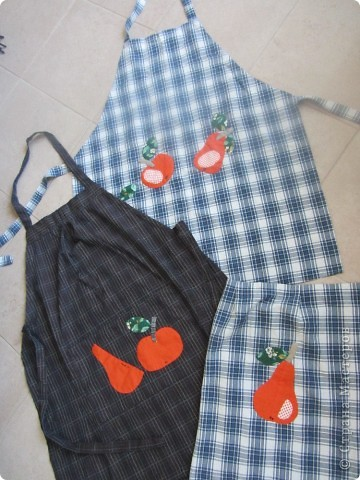 Фартуки из рубашек фото 1