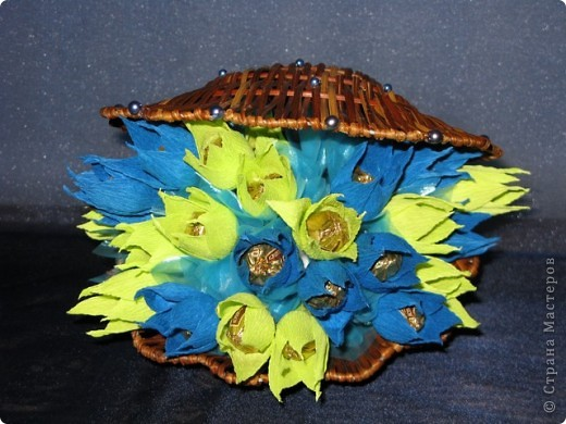 Ракушка в подарок девушке по имени Марина, что значит морская. Отсюда и идея, и цветовая гамма. фото 1