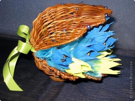 Ракушка в подарок девушке по имени Марина, что значит морская. Отсюда и идея, и цветовая гамма. фото 4