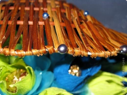Ракушка в подарок девушке по имени Марина, что значит морская. Отсюда и идея, и цветовая гамма. фото 6