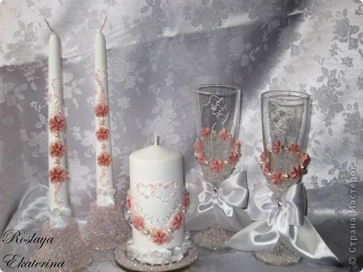 """Свадебный набор """"Розовые мечты"""" фото 1"""