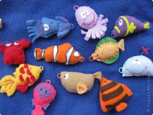 Рыбки в море фото 5