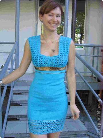 Платье летнее фото 1