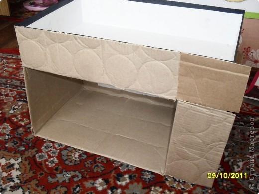 то коробку из под сапог из под