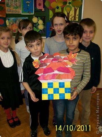 КОРЗИНА С ГРИБОЧКАМИ. фото 1
