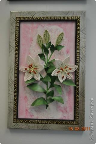 Лилии. Спасибо Мастерицам за идею цветов.  фото 1