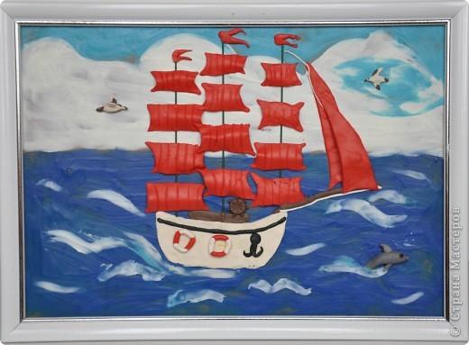 Корабль младшего сына. Пластилин. | Страна Мастеров