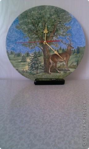 Часы из виниловой пластинки фото 1