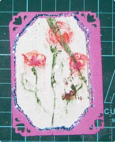 Вот такие карточки у нас получились. ...снова небольшой эксперимент... фото 16