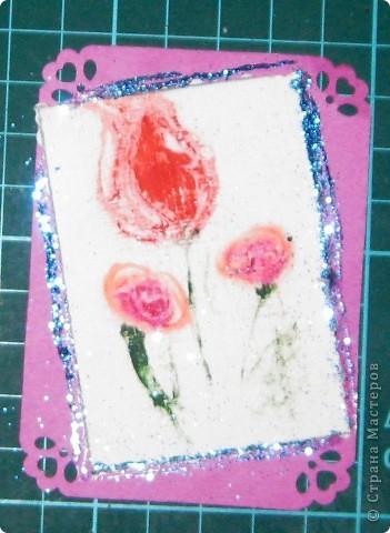 Вот такие карточки у нас получились. ...снова небольшой эксперимент... фото 15