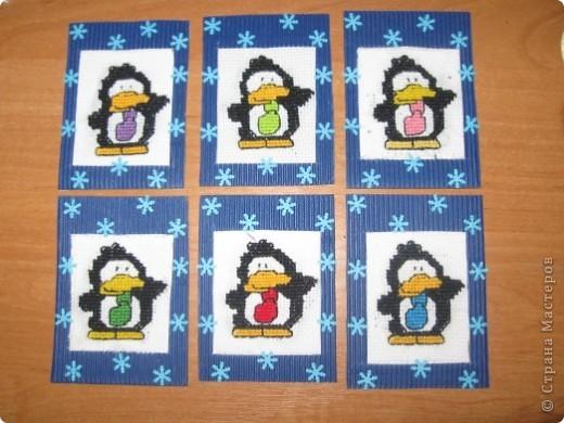 Так как уже холода. Я решила сделать серию про пингвинов! Которые всегда всю свою жизнь живут в холодах. Эта серия для должников. Для обмена обязательно сделаю продолжение! Приглашаю должников ; Лена-Полина, Вера Ц. и Ира Ц. Татьяна Имполитова,  kov732007 Ольга Козлова , MYULIYA и Minenko.Galina фото 1