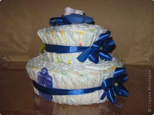 """У маминой подруги родился внучек. Вот и нашелся для меня повод """"испечь"""" еще один тортик :) фото 4"""