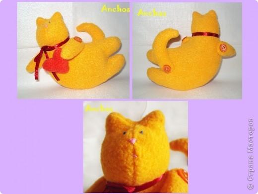 """Подруга хотела завести рыжего кота, но никак не может найти """"своего"""". Вот я и решила подарить ей на День рождения такого рыжика ))) фото 6"""