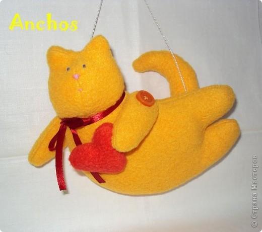 """Подруга хотела завести рыжего кота, но никак не может найти """"своего"""". Вот я и решила подарить ей на День рождения такого рыжика ))) фото 1"""