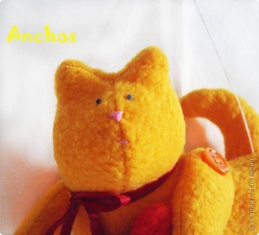 """Подруга хотела завести рыжего кота, но никак не может найти """"своего"""". Вот я и решила подарить ей на День рождения такого рыжика ))) фото 2"""
