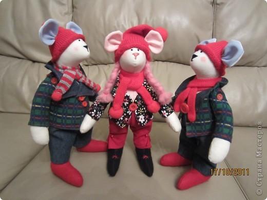 Трио мышат фото 1