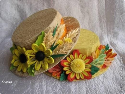 Шляпки для осеннего бала фото 1