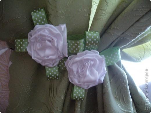 Игольница, украшенная розочкой. фото 2
