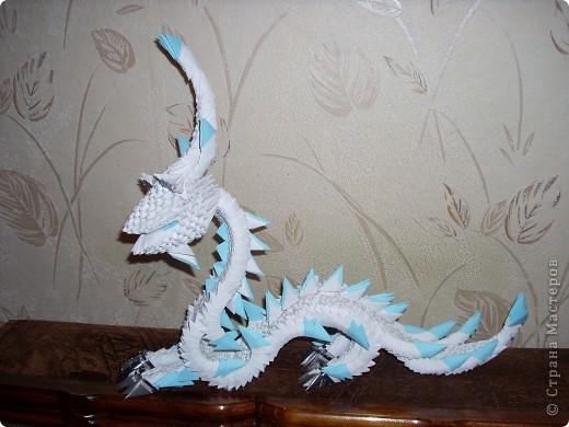 Кокетливый дракон (фас) фото 2