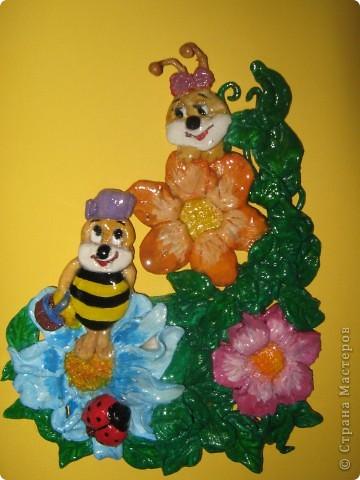 Пчелки-трудяжки в детский сад:)
