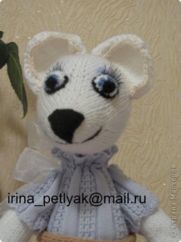 Моя новая вязанная игрушка. Знакомьтесь, мышка Нина. фото 1