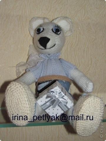 Моя новая вязанная игрушка. Знакомьтесь, мышка Нина. фото 3