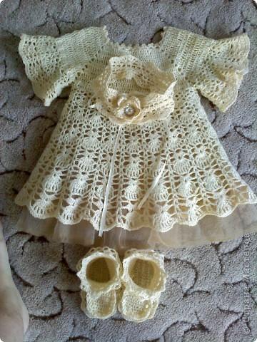 крестильный наряд для дочурки