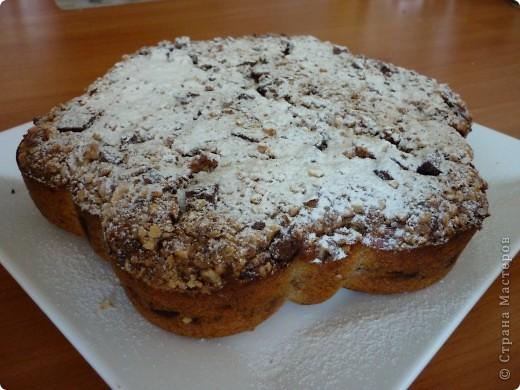 """Хочу предложить Вам пирог,который очень подойдет для """"утилизации """" бананов.Раньше спасалась в этом случае кексами- http://stranamasterov.ru/node/185629 .Но моим они поднадоели,вот и пришлось искать другой вариант. фото 1"""