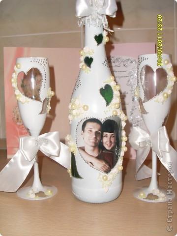 Вот и я сделала свой первый свадебный набор, для своей подруге!!! Ей очень понравилось! И гостям тоже! Спасибо большое всем мастерицам, только благодаря вам всем я на это решилась! Еще раз спасибо!!!  фото 2