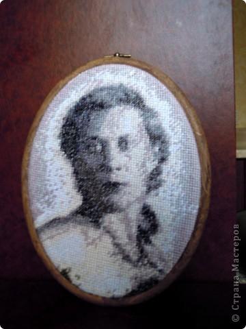 Анастасия Вышивка с фото по собственной схеме фото 4