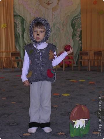 костюм ёжика фото 1