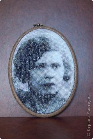 Анастасия Вышивка с фото по собственной схеме фото 5