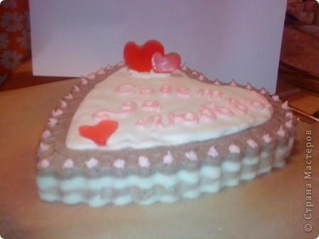 Мыльный тортик - осторожно!!! НЕСЪЕДОБНО фото 2