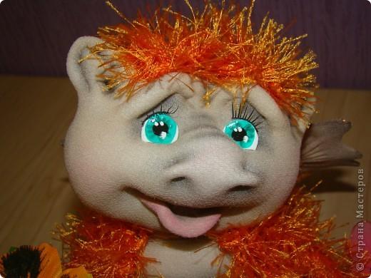 Куклы Новый год Шитьё Дракончики Мастер класс 2 часть Капрон фото 12
