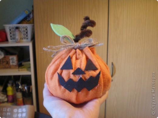 Тыква в стиле Хеллоуин.