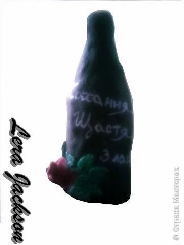 Оригинальная бутылочка на любой праздник!