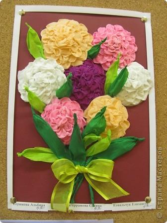 Как сделать поделку цветы для мамы - Bamishka.ru