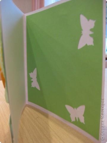 Открытка 8 марта День матери Аппликация Оригами из кругов Открытка к Дню матери Бумага фото 2