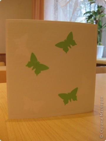 Открытка 8 марта День матери Аппликация Оригами из кругов Открытка к Дню матери Бумага фото 3
