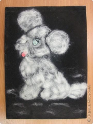 Картины из ваты своими руками для детей