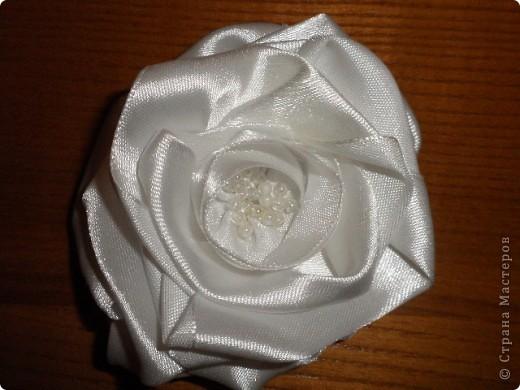 Роза с ткани