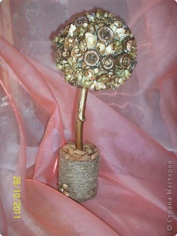 Большое спасибо хочу сказать Алевтинушке, Ольге (Eiris) за идею, за подсказки, МК, вдохновение и за их красоту!!!!!!!! Деревянные розочки- это чудо!!! Также спасибо Ирине Ляпаковой и Strinflex за вашу красоту из этих розочек!!! фото 1