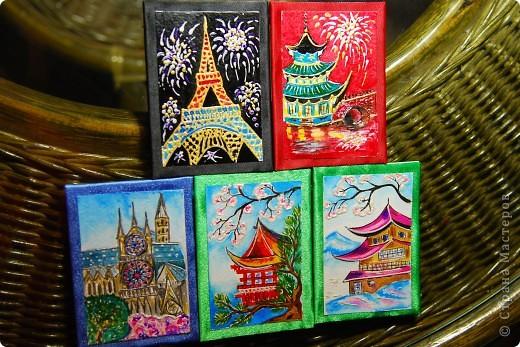 """Серия """"Города и страны"""". Эти карточки я просто показываю,т.к. они остаются дома. В принципе, любую из них могу отрисовать на заказ. фото 16"""