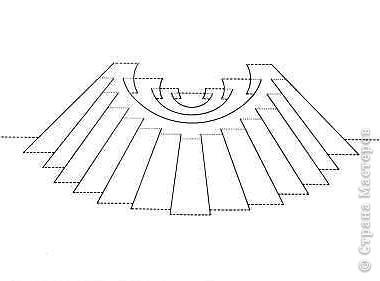 Киригами - это искусство изготовления фигурок и открыток из бумаги, с помощью вырезания и склеивания деталей.       Бумажная архитектура (Origamic architecture) – это форма бумажного ремесла, основанная и развитая архитектором Масахиро Чатани (Masahiro Chatani) в 1980 году.  Для изготовления используют листы бумаги или тонкого картона, которые надрезают и складывают. Наглядно, эти модели сравнимы с замысловатыми 'pop-up' - открытками. В отличие от традиционных pop-up-открыток, эти бумажные модели обычно надрезают и складывают из одного листа бумаги. Чаще всего разрабатывают трехмерные воспроизведения архитектуры, геометрические узоры и различные повседневные объекты и др.  фото 20