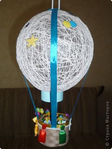 Поделки своими руками из воздушных шаров и ниток