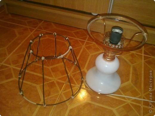 Из чего сделать абажур для настольной лампы