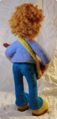 """Такая мишка Мишель получилась уже дома после """"шлифования"""" и дарения ей цветочков и ягодок фото 11"""