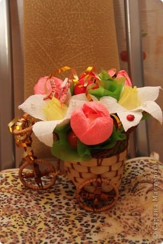 нарциссы и тюльпаны фото 1