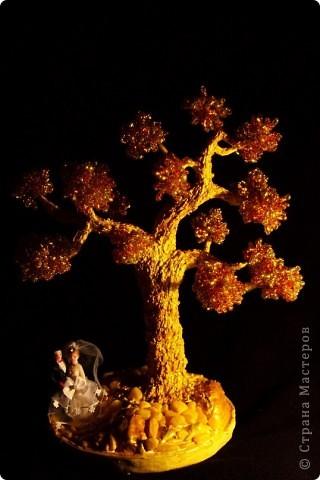 Синее деревце фото 9